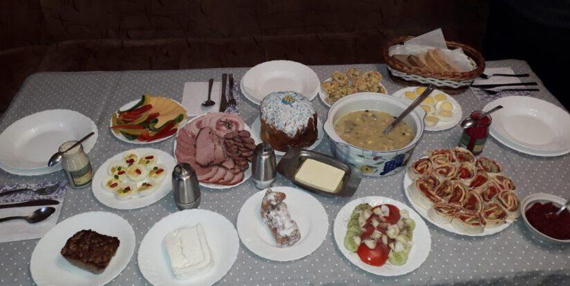 Буськ – Великодній сніданок